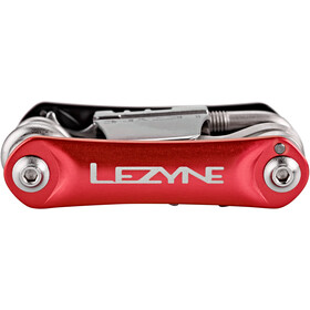Lezyne Rap-20 Multiherramientas, red/black